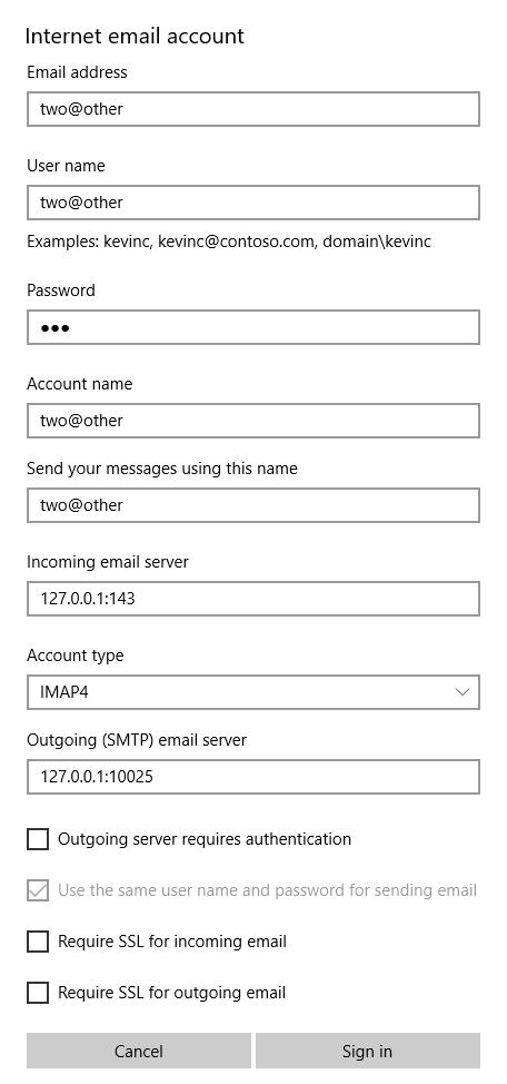 1 Microsof1 Microsofmail At Abc Microsoft Company: 5.7.1 Stand-alone PoC Environment
