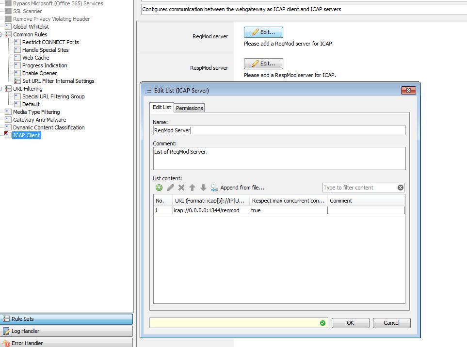 4 4 4 McAfee Web Gateway - MetaDefender ICAP Server